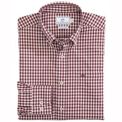 Southern Tide Men's Inter Coastal Centerline Gingham Shirt