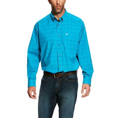 Ariat Men's Long Sleeve Pro Series Fairbanks Plaid Shirt