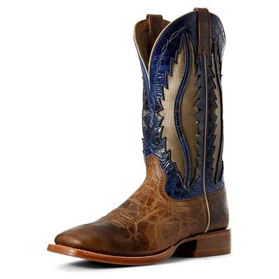 Ariat Men's Fresh Vent Tek Fresh Wheat & Blue Grass Boots