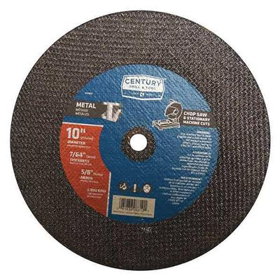Chop Saw Blade, 10x7/64 In., Type 1a