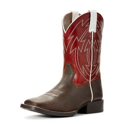Ariat Boy's Crossdraw Chili Red Boots