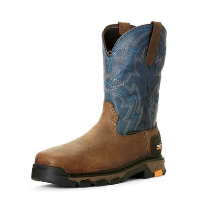 Ariat Men's Intrepid Force Blue Composite Tow Work Boots