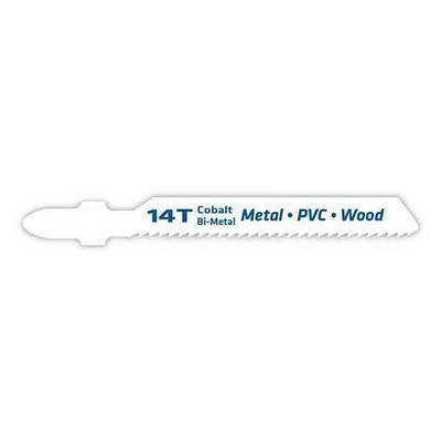 Bi- Metal Jigsaw, Blade 14t, T- Shank