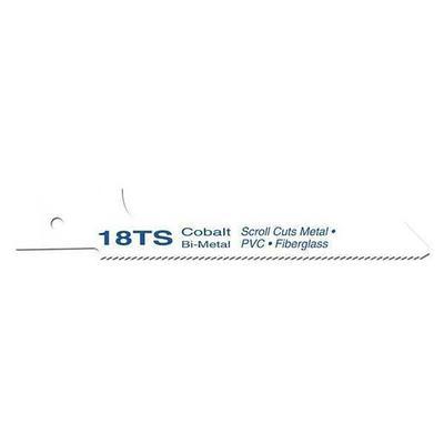 Contractor Bi- Metal Reciprocating Blade, 18tx4 In