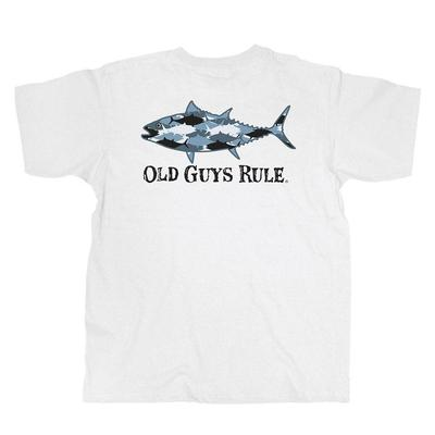 Old Guys Rule Men's Camo Tuna T-Shirt