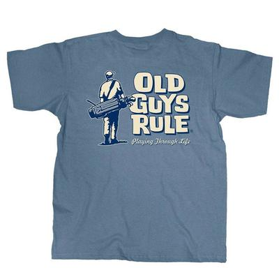 Old Guys Rule Men's Playing Through Life T-Shirt