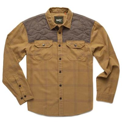 Howler Brothers Men's Long Sleeve Quintana Quilted Flannel Shirt