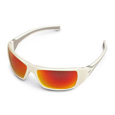 STIHL WHITE ICE - ORANGE MIRROR LENS