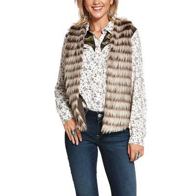 Ariat Women's Faux Fur Scout Vest