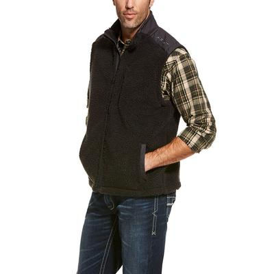 Ariat Men's El Capitan Pile Fleece Vest