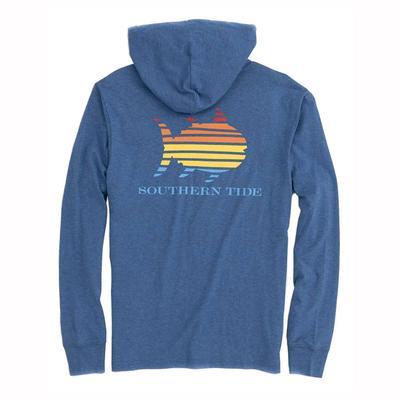 Southern Tide Men's Long Sleeve Skip Jack Gradient Hoodie