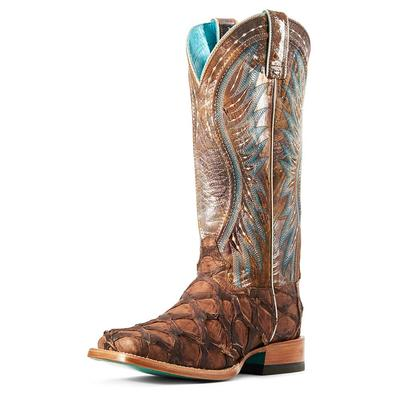Ariat Women's Exotic Vaquera Big Bass Boots