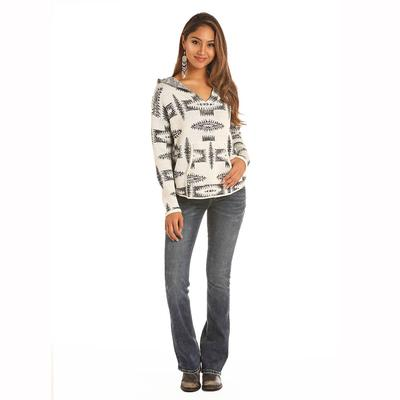 Rock & Roll Denim Women's Printed Sweater
