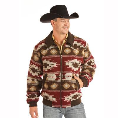 Rock & Roll Denim Men's Wool Coat