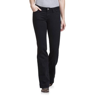 Wrangler Women's Mid Rise Trouser Jeans