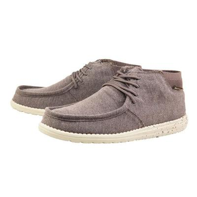 Hey Dude Men's Brown Wayne Shoes