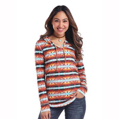 Panhandle Slim Women's Aztec Pullover Hoodie