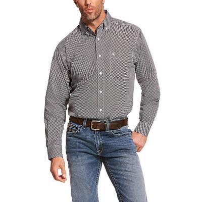 Ariat Men's Long Sleeve Agazzi Print Casual Series Shirt