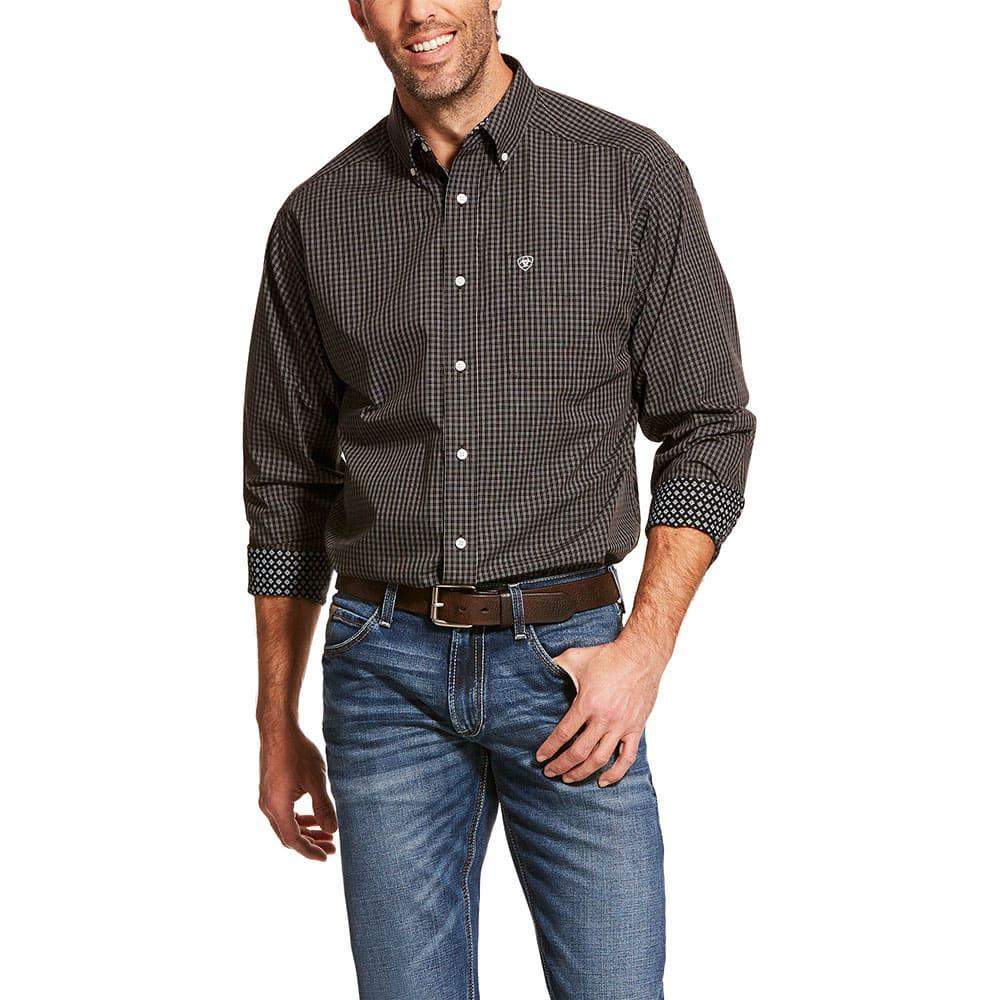 ARIAT Mens Wrinkle Free Long Sleeve Shirt
