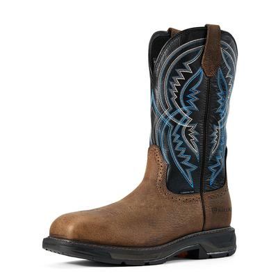 Ariat Men's Western Workhog Xt Coil Square Toe Boots