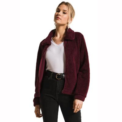 Z Supply Women's Sherpa Crop Jacket