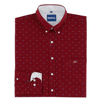 Resistol Men's Groppe Long Sleeve Button Down Shirt