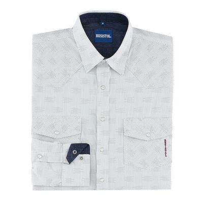 Resistol Men's Helm Long Sleeve Snap Shirt