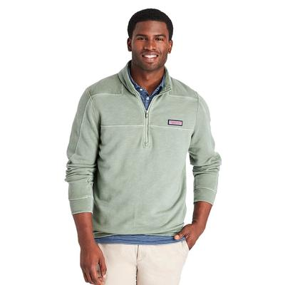 Vineyard Vines Men's Woodhouse Garment-Dyed Shep Pullover