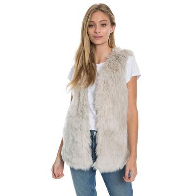 Dylan Women's Melange Fur Vest