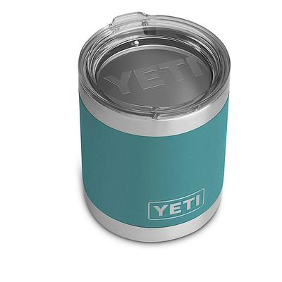 Yeti RIVER GREEN RAMBLER 10 OZ LOWBALL