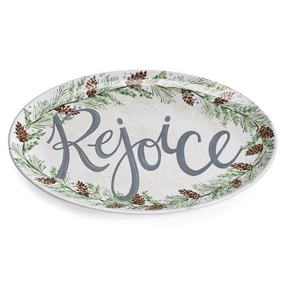 Rejoice Oval Platter