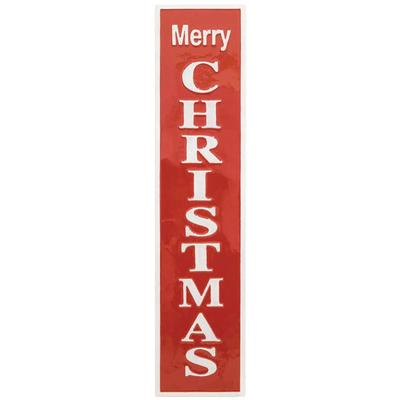 Cheery Merry Christmas Hanging Sign