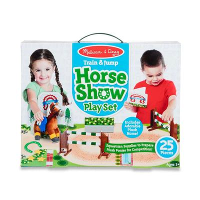 Train and Jump Horse Show Play Set