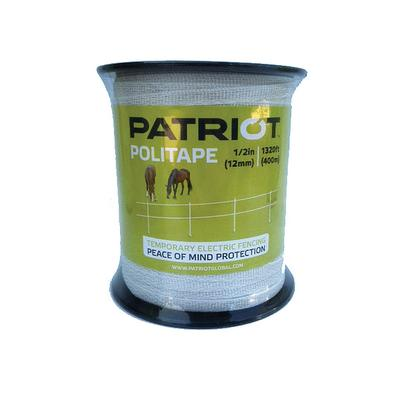 PATRIOT POLITAPE WHITE 1320 / 1/2