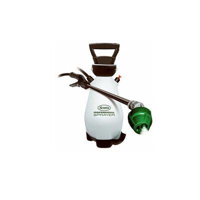 Zero Pump Commercial-Grade Garden Sprayer, Battery Operated, 2-Gallons