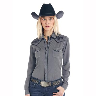 Panhandle Slim Women's Embroidery Snap Shirt