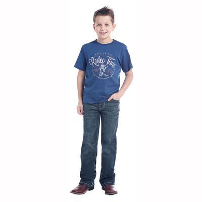 Rock & Roll Denim Boy's Dark Vintage Jeans