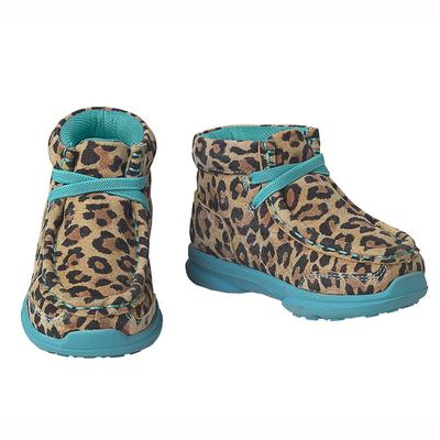 Ariat Lil 'Stompers Casual Leopard Boots