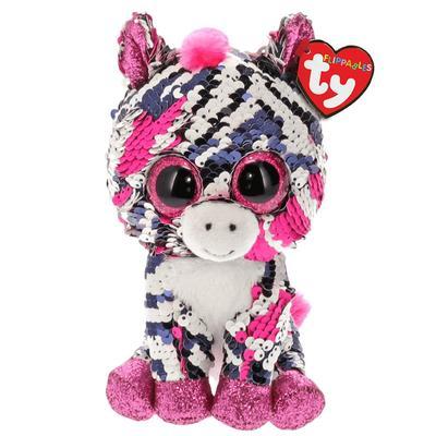 Zoey Reversible Sequin Pink Zebra