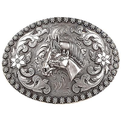 Blazin' Roxx Women's Mare and Foal Belt Buckle