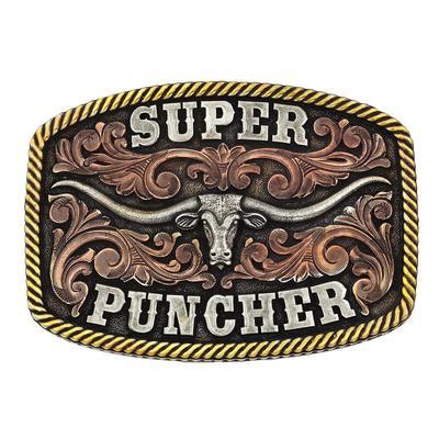 Montana Silversmiths' Dale Brisby Super Puncher Belt Buckle
