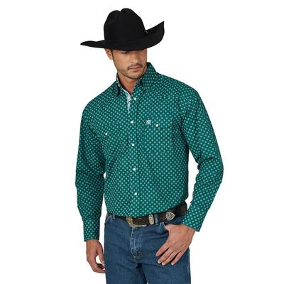 Wrangler Men's George Strait Troubadour Shirt