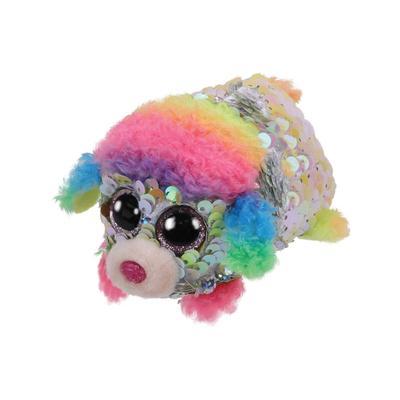 Teeny Rainbow Sequin Flip Poodle