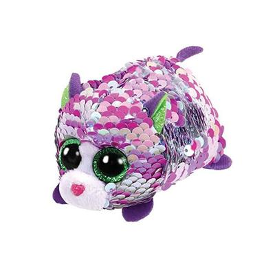 Teeny Lilac Sequin Purple Cat