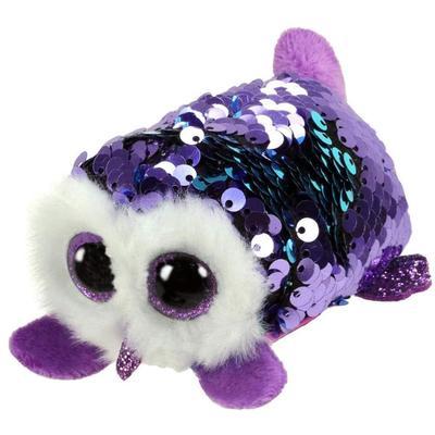 Teeny Moonlight Sequin Purple Owl