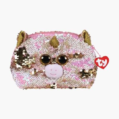 Fantasia Reversible Sequin Accessory Bag
