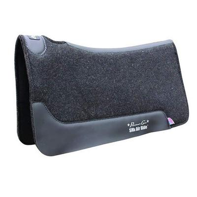 Professional S Choice Close Contact Cowboy Felt Air Ride Saddle Pad
