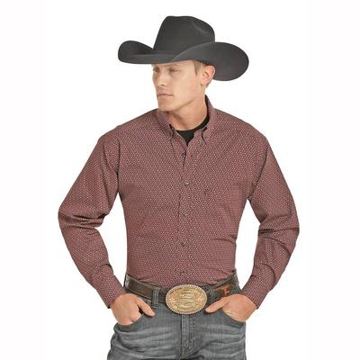 Panhandle Slim Men's Tuf Cooper Performance Button Down Shirt