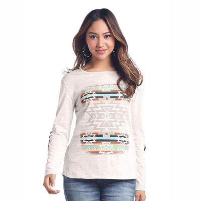 Panhandle Slim Women's Long Sleeve Aztec Top