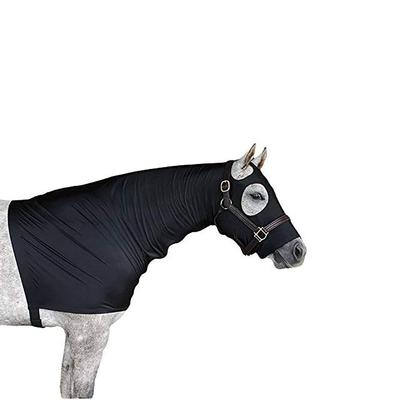 Sleazy sleepwear For Horses Large Black Zipper Hood